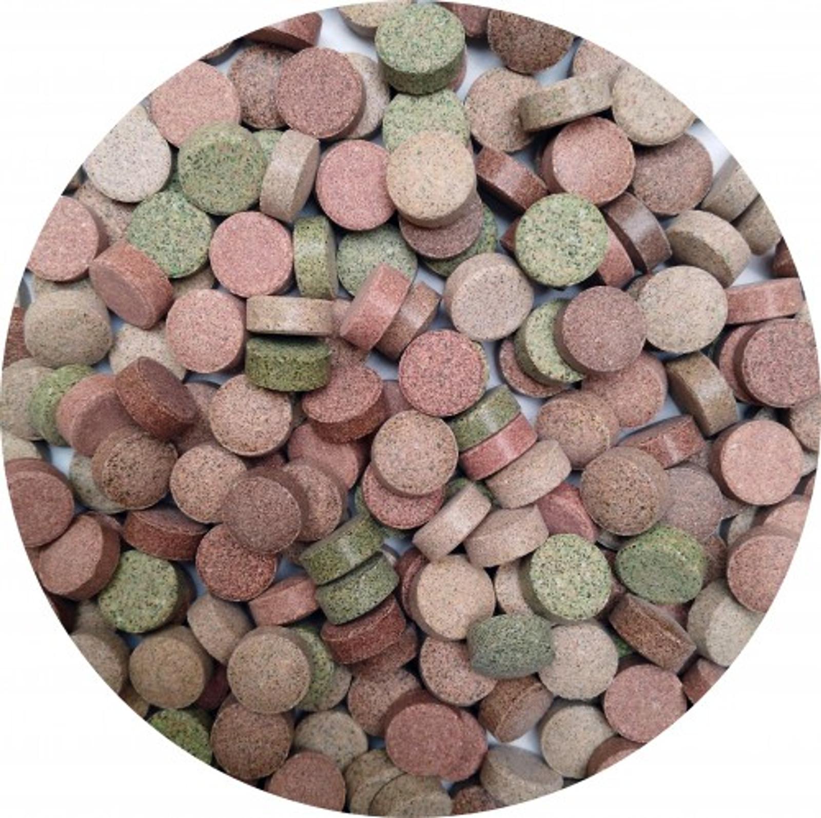 Aquaristik-Paradies Futtertabletten 14-Sorten-Mix 187,5 g (ca. 250 ml) – Bild 1