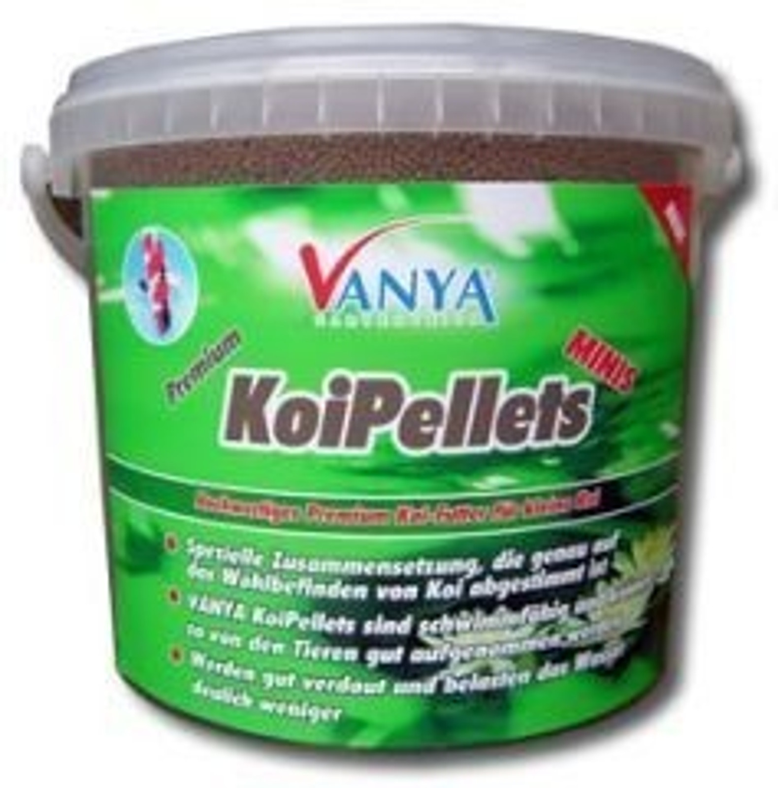 VANYA KoiPellets MINIS, 2mm - 5.000 ml