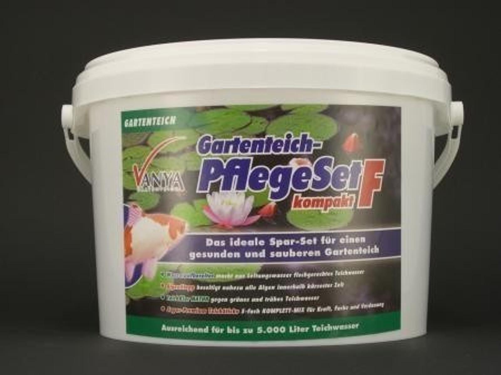 VANYA Gartenteich Pflegeset F Kompakt