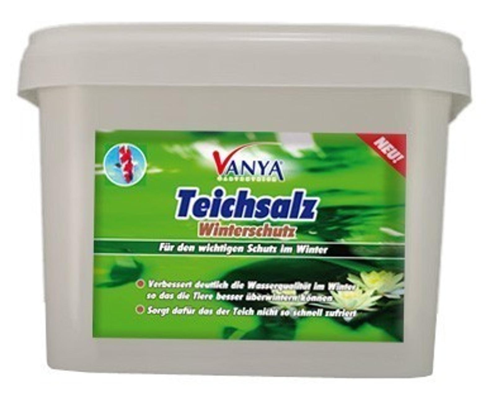 VANYA Teichsalz Winterschutz 1.200 g