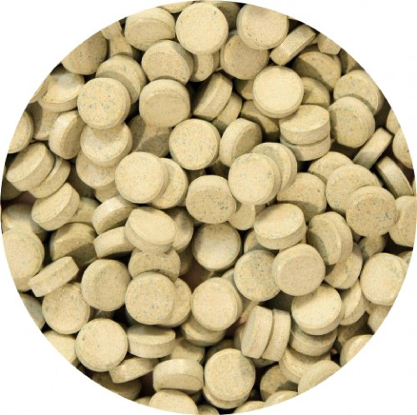 Aquaristik-Paradies Pflanzenfuttertabletten 1.000 g (ca. 1.250 ml) - verwendbar als Haft- und Bodentablette