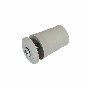 Anschlagstopper / Anschlagpuffer 28mm, grau – Bild 2