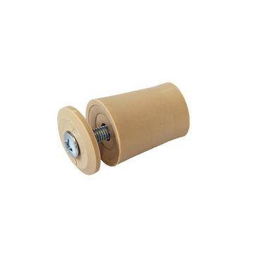 Anschlagstopper / Anschlagpuffer 28mm, beige – Bild 2