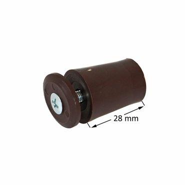 Anschlagstopper / Anschlagpuffer 28mm, braun – Bild 3