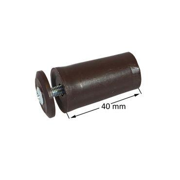 Anschlagstopper / Anschlagpuffer 40mm, braun – Bild 3