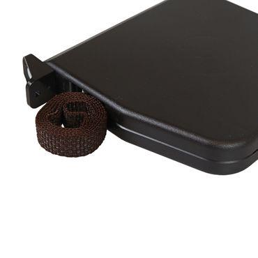 5 x Selve Aufschraubwickler Mini Aufputz Gurtwickler aufklappbar Scharniersystem Rolladen braun, 5 m Gurtband Rolladengurt braun – Bild 2