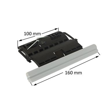 20 x Rollladen Clip Wellenverbinder für 50mm & 60mm 8-kant Stahlwellen, 1-gliedrig, feste Wellenverbinder, Hochschiebesicherung – Bild 2
