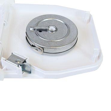 5 x Selve Aufschraubwickler Mini Aufputz Gurtwickler aufklappbar Scharniersystem Rolladen weiß, ohne Rolladengurtband – Bild 4