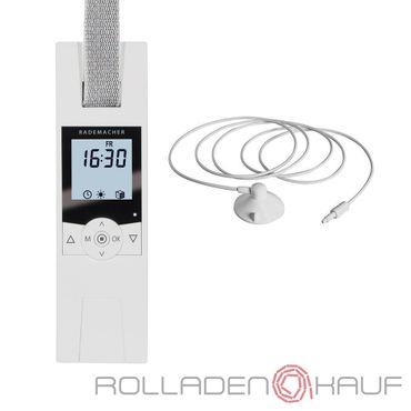 Rademacher RolloTron Comfort 1700 elektrischer Gurtwickler Unterputz, weiß + Sonnensensor 0,75 m - 16234519