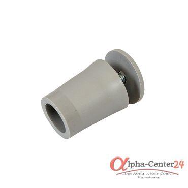 10 x Anschlagstopper / Anschlagpuffer 28mm, grau – Bild 1