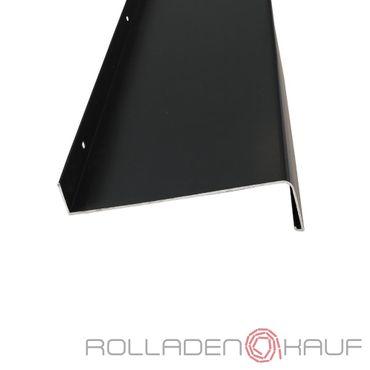 (24,27€/1m) Aluminium-Außen-Fensterbank Anthrazitgrau RAL 7016 Ausladung 260 mm, Länge wählbar – Bild 1