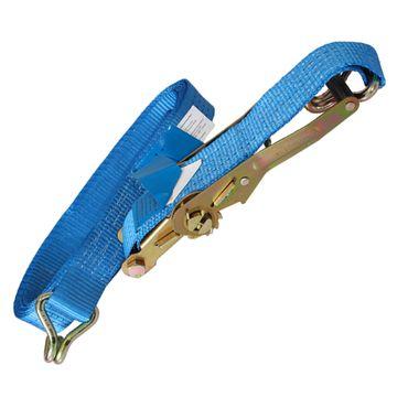 10 x Inovatec Spanngurt Zurrgurt Ratschengurt 2-teilig 5m 2000 / 4000 daN 50mm Spannset Sicherung Gurt Blau – Bild 5