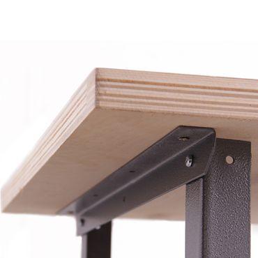 Metall Werkbank Basic 120x60x85 cm – Bild 5