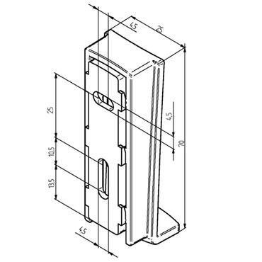 Elero VarioTel 2 Funksteuerung Funk Handsender 5 - Kanal Fernbedienung 868 MHz silber – Bild 3