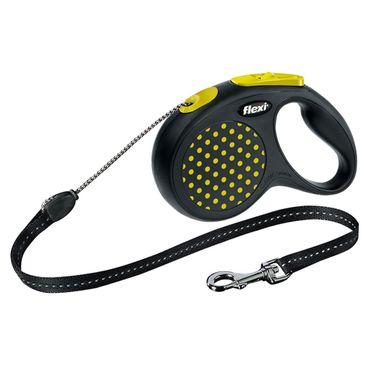 Hundeleine flexi® Design Gr. S - M, Seil, 5 m – Bild 3