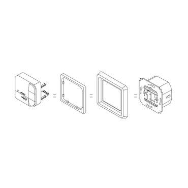 Elero MemoTec Wandsender Set inkl. ProLine Rahmen – Bild 3