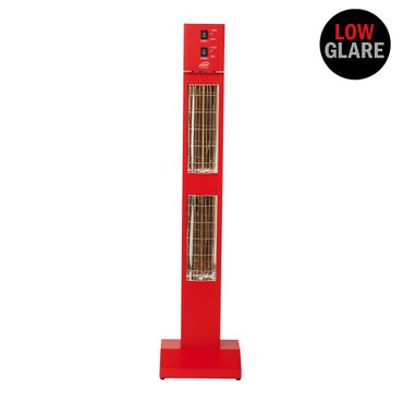 Infrarot Heizstrahler Burda Smart Tower IP24, Weiß, 3000 W in 4 Farben Outdoor / Indoor