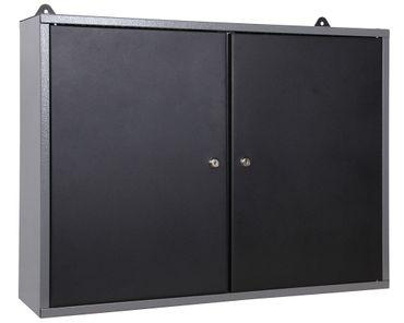 Werkstatteinrichtung 120 cm, 2 Metall-Schränke, Werkbank und Lochwandset – Bild 5