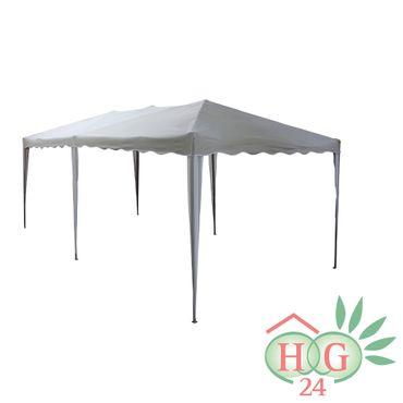 gardissimo Faltpavillon in der Farbe grau / weiß 3 x 6 m ohne Seitenteile