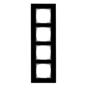 Glasrahmen Klein 55 Glas für GIRA System 55, Farbe: schwarz – Bild 5