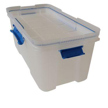 Aufbewahrungsbox Multifunktionsbox Scuba L transparent, wasserdicht und geruchsneutral – Bild 5