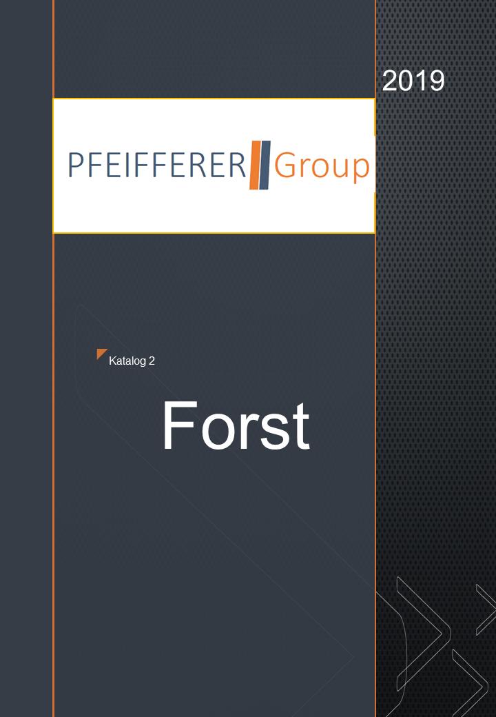 Forst-Katalog 2019