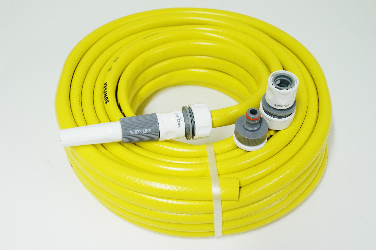 """Wasserschlauch Pro Line 1//2/"""" 50m gelb Gartenschlauch"""
