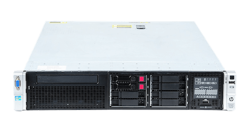 HP ProLiant DL380p Gen8 V0 Server 2x Xeon E5-2690 8-Core 2.90 GHz, 16 GB DDR3 RAM, 2x 300 GB SAS 10K