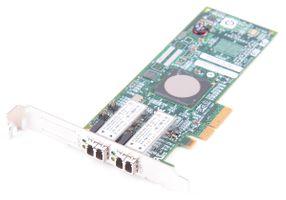 Emulex LightPulse LPE11002 Dual Port 4 Gbit/s Fibre Channel Host Bus Adapter / FC HBA, PCI-E