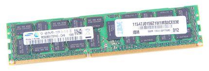 IBM 4GB 2Rx4 PC3-10600R DDR3 Registered Server-RAM Modul REG ECC - 49Y1445