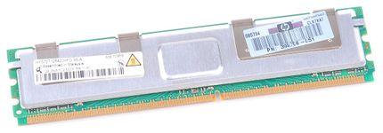 HP RAM Module PC2-5300F 1 GB 398706-051 / 398706-551 DDR2 FB-DIMM ECC