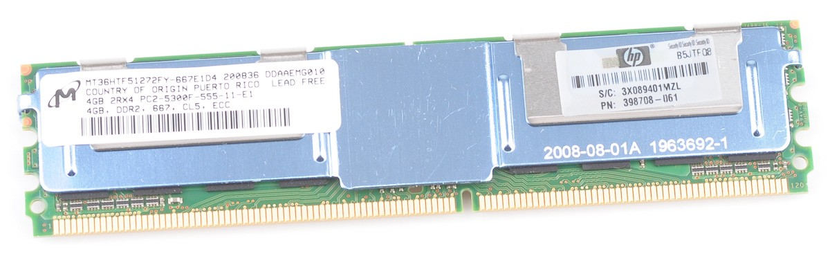 PC2-5300F FULLY BUFFERED SERVER RAM FOR DELL POWEREDGE R900 1x 4GB 4GB