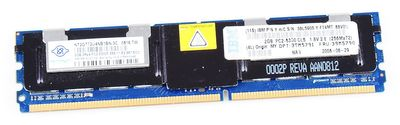 IBM 2 GB PC2-5300F RAM Modul ECC 39M5790 / 46C7422