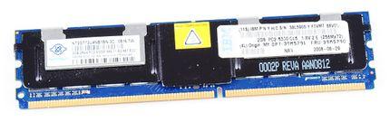 IBM 2 GB PC2-5300F RAM Modul ECC 39M5790 / 46C7422