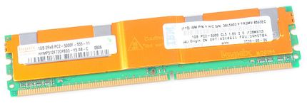 IBM RAM Modul FB-DIMM 1 GB PC2-5300F ECC 2Rx8 39M5784