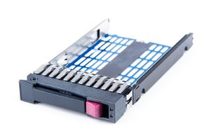 "HP 2.5"" SFF SAS / SATA Hot Swap Festplatten-Rahmen / Disk Tray for G5 / G6 / G7 Server - 371593-001"