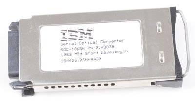 IBM 21H9839 Serial Optical Converter IBM42S10SNNAA20 1063 MBd Short Wavelenght