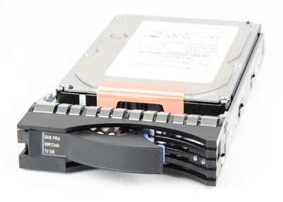 "IBM 73.4 GB 15K SAS 3.5"" Hot Swap Hard Drive - 39R7348"