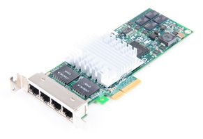 HP NC364T Quad Port Gigabit Server Adapter / Netzwerkkarte PCI-E - 436431-001 - low profile