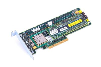 HP Smart Array P400 RAID Controller 512 MB SAS PCI-E 405831-001 / 447029-001 - low profile