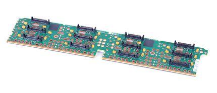 HP FC Disk Shelf Backplane Board 4 Gbit/s 461493-001