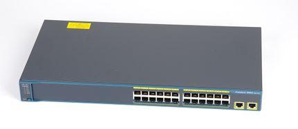 CISCO Catalyst WS-C2960-24TT-L 24 Port Switch - Cisco 2960
