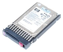 "HP 146 GB Dual Port 15K SAS 2.5"" Hot Swap Festplatte - 504334-001"