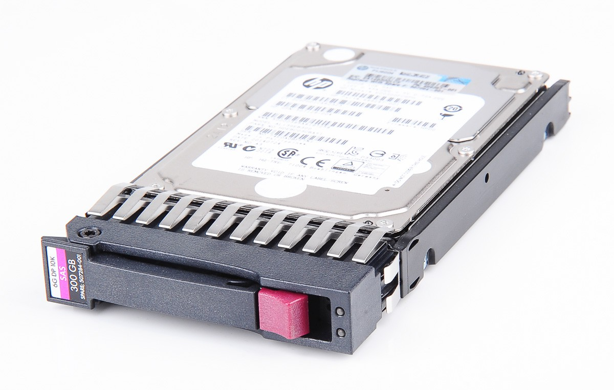"HP 300 GB 6G Dual Port 10K SAS 2.5"" Hot Swap Festplatte / Hard Disk - 507284-001 / 507127-B21"