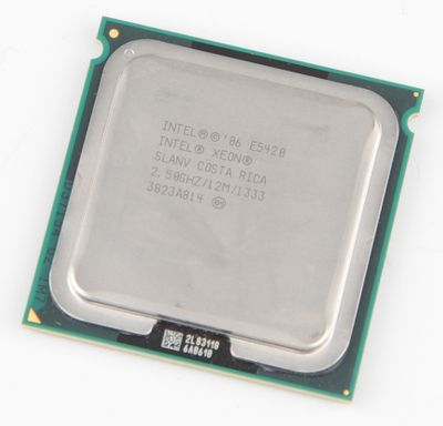 INTEL XEON E5420 SLANV Quad Core CPU 4x 2.50 GHz / 12 MB L2 / 1333 MHz FSB / Socket 771