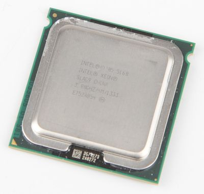 INTEL XEON 5160 SLAG9 Dual Core CPU 2x 3.0 GHz / 4 MB L2 / 1333 MHz FSB / Socket 771