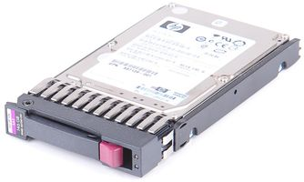"HP 146 GB 6G Dual Port 10K SAS 2.5"" Hot Swap Hard Drive - 507283-001"