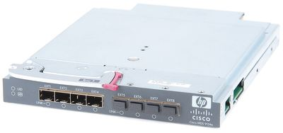 HP / Cisco MDS 9124e 24 Port C-Class Fibre Channel Fabric Switch AG642A