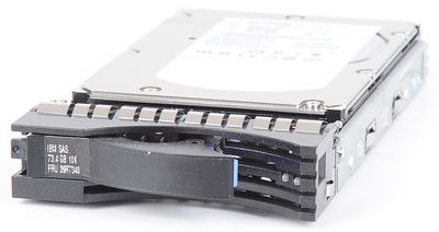 "IBM 73.4 GB 10K SAS 3.5"" Hot Swap Hard Drive - 39R7340"