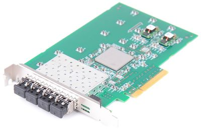 IBM PMC QX4 Pass2 Fiber Channel Adapter Card Quad Port 31P0945 110-31P0950-01 PCI-E